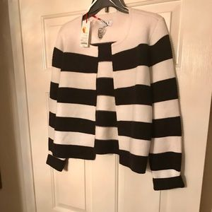 Women's Stripe Elle Jacket Size Medium